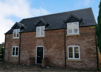 Thumbnail 4 bed detached house for sale in Lynn Road, Weeting, Brandon