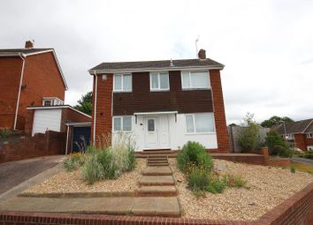 Thumbnail 3 bed detached house for sale in Aller Vale Close, Broadfields, Exeter