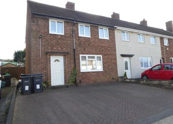 Thumbnail 3 bed end terrace house for sale in Edgewood Road, Rednal, Birmingham