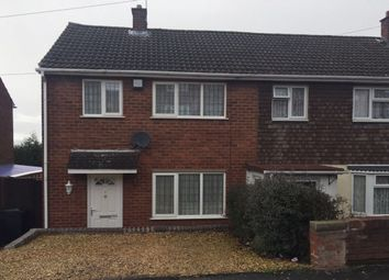 Thumbnail 2 bedroom end terrace house for sale in Central Drive, Dudley