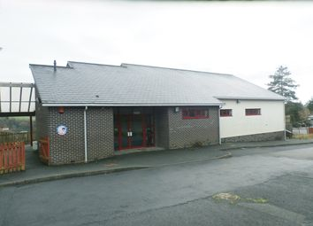 Thumbnail Commercial property for sale in Llyn Y Fran Road, Llandysul