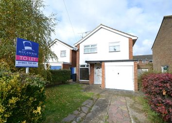 Thumbnail 3 bed detached house to rent in Tavy Road, Worthing