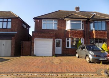 Thumbnail 4 bed semi-detached house to rent in Sherborne Avenue, Luton