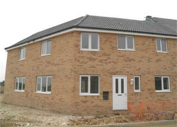 Thumbnail 3 bedroom end terrace house to rent in Charter Avenue, Market Deeping, Peterborough, Lincolnshire
