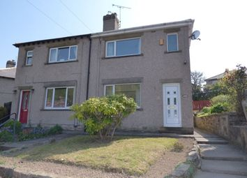 Thumbnail 2 bed semi-detached house to rent in Cliffe Avenue, Baildon, Shipley