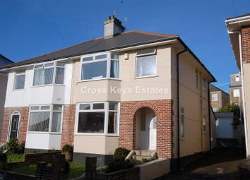 3 bed semi-detached house for sale in Lopes Road, Plymouth PL2