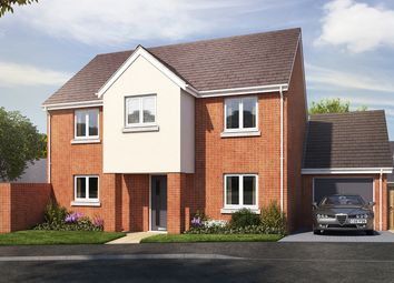 "Thumbnail 4 bedroom detached house for sale in ""The Portland"" at Vicarage Hill, Kingsteignton, Newton Abbot"