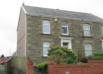 Thumbnail 2 bed semi-detached house for sale in Caemawr Road, Morriston, Swansea, City And County Of Swansea.