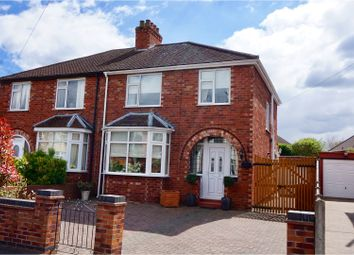 Thumbnail 3 bed semi-detached house for sale in Mayfair Avenue, Lincoln