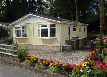 Thumbnail 2 bedroom mobile/park home for sale in Hopeswood Park, Gloucester Road, Longhope