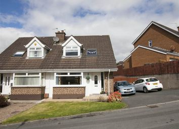 Thumbnail 3 bed semi-detached house for sale in 125, Dunlady Manor, Belfast
