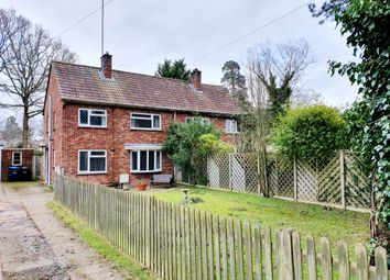 Thumbnail 3 bed semi-detached house for sale in New Town, Copthorne, Crawley