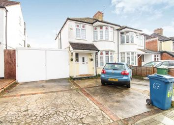Thumbnail 3 bed semi-detached house to rent in Drummond Drive, Stanmore