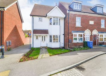 Thumbnail 3 bed end terrace house for sale in Cormorant Road, Iwade, Sittingbourne