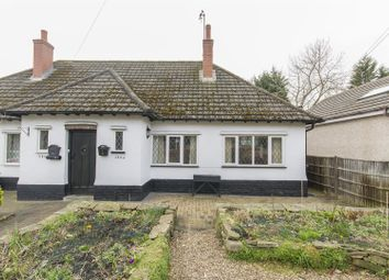 Thumbnail 1 bed semi-detached bungalow for sale in Old Road, Brampton, Chesterfield