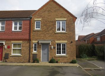 Thumbnail 3 bed end terrace house for sale in Tunbridge Way, Singleton, Ashford