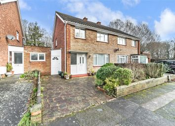 Thumbnail 3 bed semi-detached house for sale in Quincewood Gardens, Tonbridge, Kent