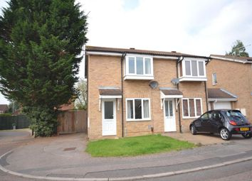 Thumbnail 2 bed semi-detached house to rent in Fleetwind Drive, Northampton