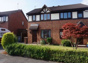 Thumbnail 3 bed semi-detached house for sale in Merton Street, Longton, Stoke-On-Trent, Staffordshire