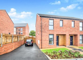 Thumbnail 2 bedroom semi-detached house for sale in Captains Walk, Llanrumney, Cardiff