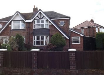 Thumbnail 3 bed semi-detached house for sale in Danebank Avenue, Crewe, Cheshire