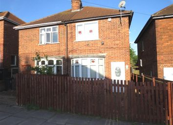 Thumbnail 2 bed semi-detached house for sale in Jean Drive, Leicester