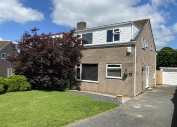 Thumbnail 3 bed semi-detached house for sale in Broadlands Close, Plympton, Plymouth