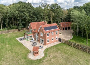 Thumbnail 5 bed detached house for sale in Stackwood Road, Polstead Heath, Suffolk