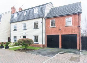 Thumbnail 5 bed detached house for sale in Wallace Way, Romford