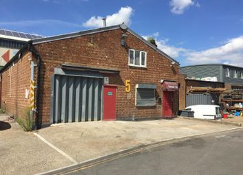 Thumbnail Warehouse for sale in Unit 5, Waterside Trading Centre, Trumpers Way, London