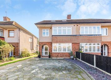 Thumbnail 5 bed semi-detached house for sale in Trent Avenue, Upminster