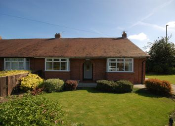 Thumbnail 2 bed semi-detached bungalow for sale in West Lane, Forest Hall, Newcastle Upon Tyne
