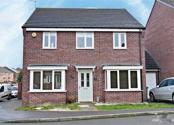 Thumbnail 4 bed detached house to rent in Hetton Drive, Clay Cross, Chesterfield, Derbyshire