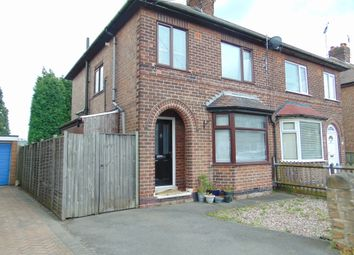 Thumbnail 3 bedroom semi-detached house for sale in Leyton Crescent, Beeston, Nottingham