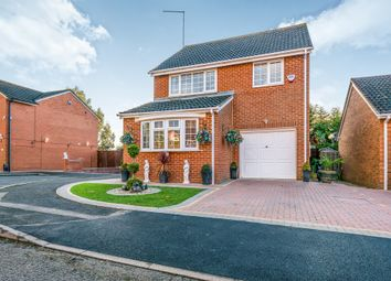 Thumbnail 4 bedroom detached house for sale in Wildern Lane, Northampton