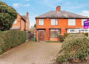 Thumbnail 3 bed semi-detached house for sale in Forest Road, Loughborough