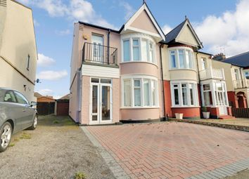 Thumbnail 3 bed link-detached house for sale in Walk To The Station, Leamington Road, Southend-On-Sea