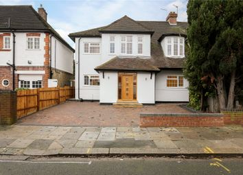 Thumbnail 5 bed semi-detached house for sale in Stuart Avenue, Ealing