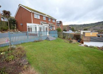 Thumbnail 3 bed semi-detached house to rent in Headway Rise, Teignmouth, Devon