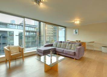 Thumbnail 2 bed flat to rent in Boardwalk Place, Tower Hamlets