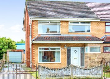 Thumbnail 3 bed semi-detached house for sale in Wrigley Road, Haydock, St. Helens