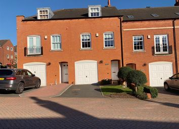 Thumbnail 4 bed town house for sale in Belmont, Beacon Mews, Lichfield