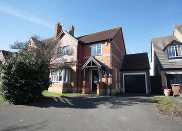 Thumbnail 4 bedroom detached house for sale in Rackham Drive, Luton