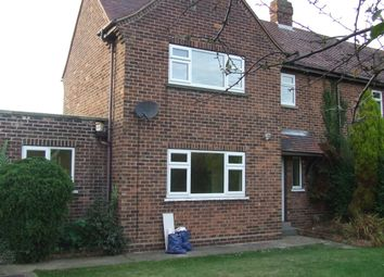 Thumbnail 3 bed terraced house to rent in Elloughton Road, Elloughton, Brough