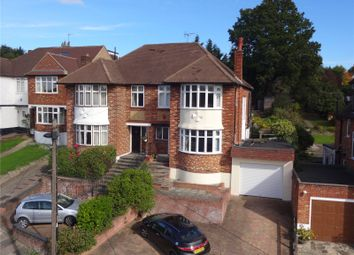 Thumbnail 3 bed semi-detached house for sale in Slades Rise, Enfield, London