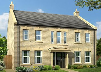 "Thumbnail 5 bed detached house for sale in ""The Berkhamsted"" at Burn Road, Huddersfield"