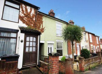 Thumbnail 2 bedroom terraced house to rent in Waveney Road, Ipswich, Suffolk
