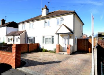 Thumbnail 2 bed semi-detached house for sale in Normanhurst Road, Walton-On-Thames
