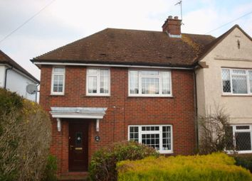 Thumbnail 4 bed semi-detached house to rent in Farleigh Road, Warlingham