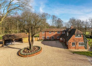 Thumbnail 5 bed country house for sale in Dippenhall, Farnham